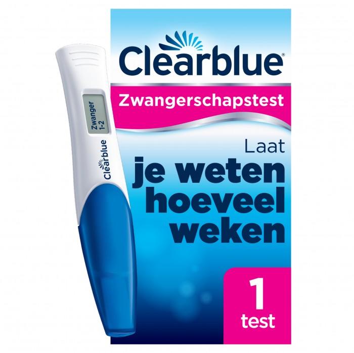 Clearblue Digitale Zwangerschapstest 1299 Sensitest