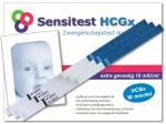 Sensitest zwangerschapstest in speciale verpakking met 3 stuks.