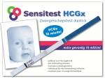 Sensitest extra gevoelige zwangerschapstest met een gevoeligheid van 10 miu/ml