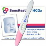Sensitest zwangerschapstesten extra vroeg 6 dagen