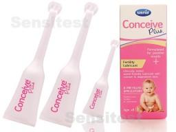 Conceive Plus met 8 applicators van 4 gram