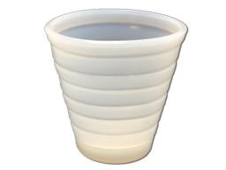 De cup houdt 100 ml urine