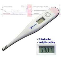 Digitale ovulatie thermometer.