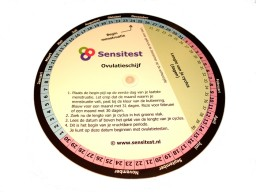 Met gratis ovulatieschijf voor het uitrekenen van je vruchtbare periode en startdatum ovulatietesten.