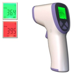 Kleuren display thermometer