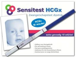 Senstest extra gevoelige zwangerschapstest uitslag negatief, je bent niet zwanger